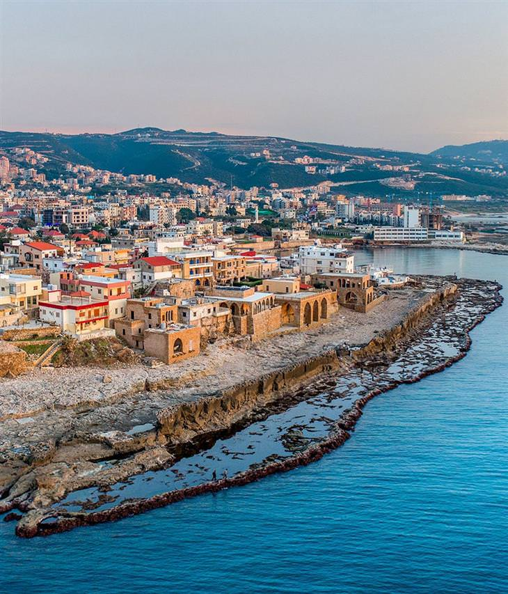 Imagens do Líbano