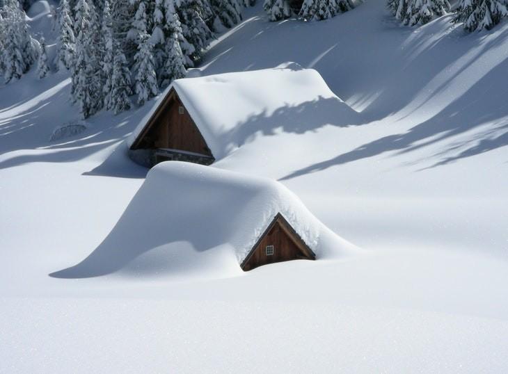 Paisagens com neve