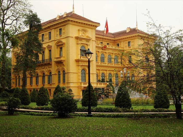 Residências oficiais de líderes mundiais Vietnam