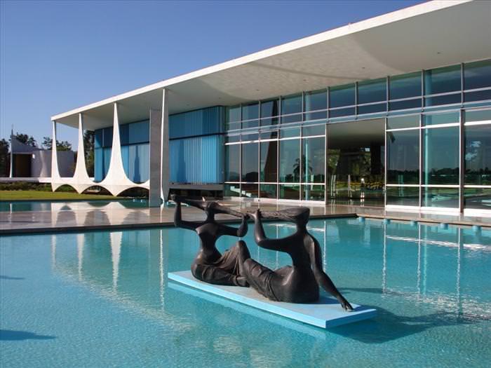 Residências oficiais de líderes mundiais Alvorada Brasília
