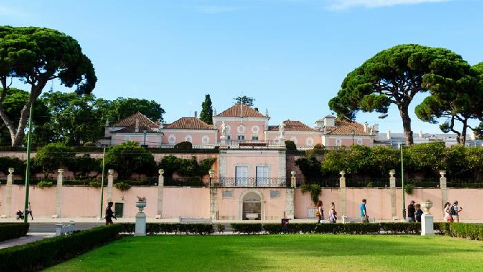 Residências oficiais de líderes mundiais Palácio de Belém Portugal