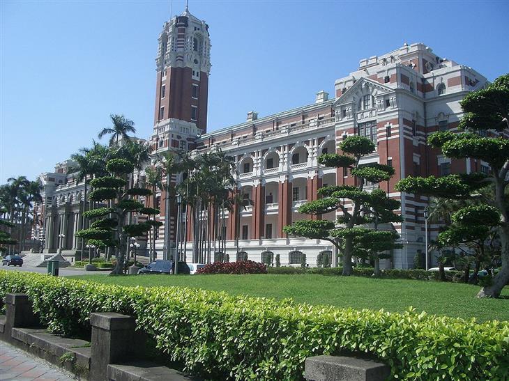 Residências oficiais de líderes mundiais Taipéi