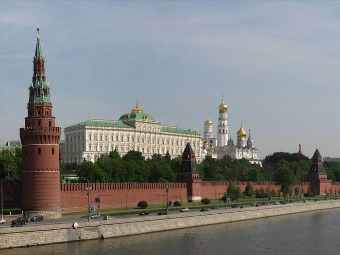 Residências oficiais de líderes mundiais Kremlin Rússia