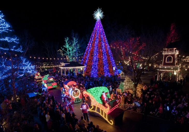 Belíssimas árvores de Natal NYC