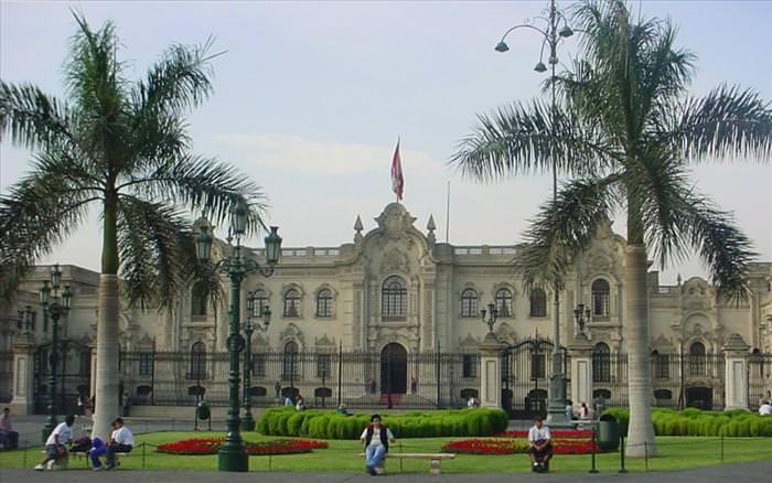 Residências oficiais de líderes mundiais Peru