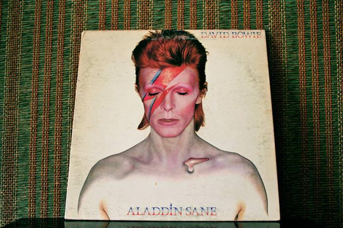Coisas da década de 70 David Bowie
