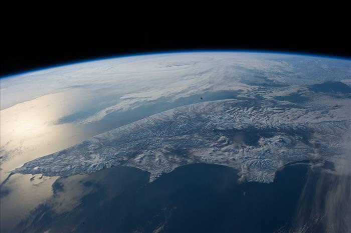 Coisas da década de 70 superfície da terra