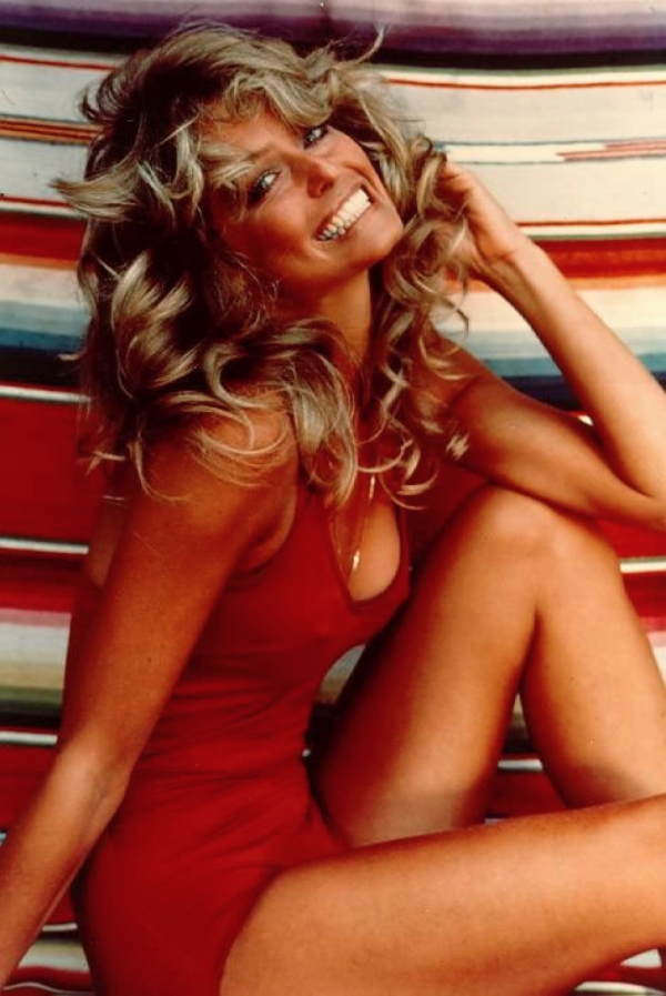 Coisas da década de 70 Farrah Fawcett Majors
