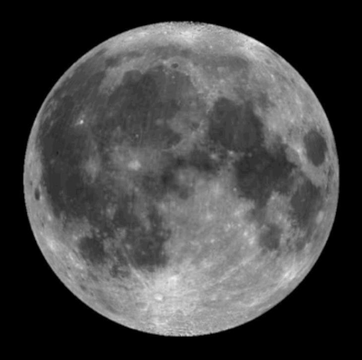 A super lua de Novembro de 2016