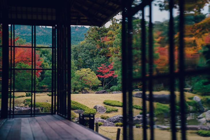 Outono em Kyoto