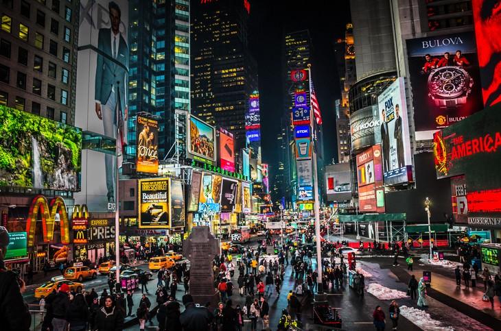 Lugares nos EUA só para turistas