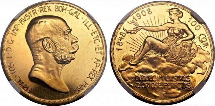 moedas impressionantes