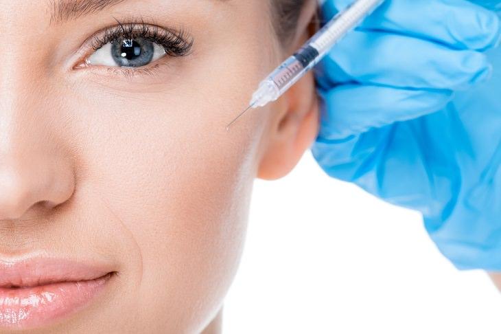 injeção de Botox