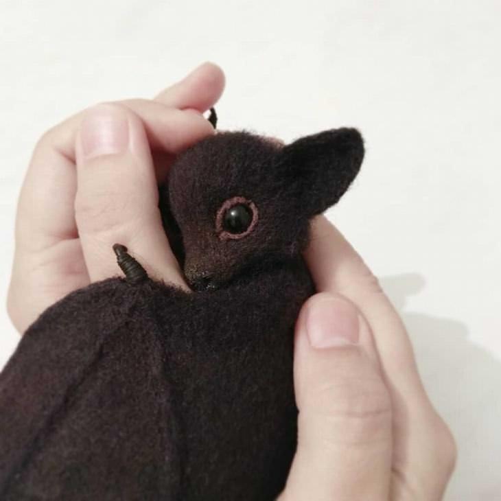 animais feitos de lã