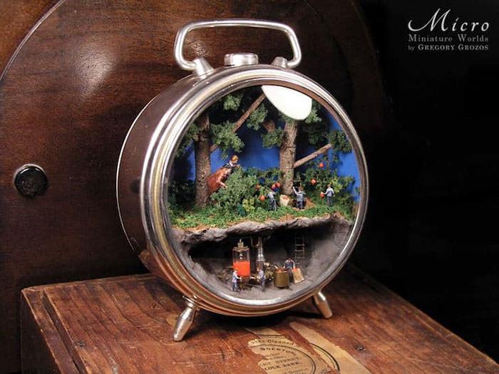 arte em miniatura
