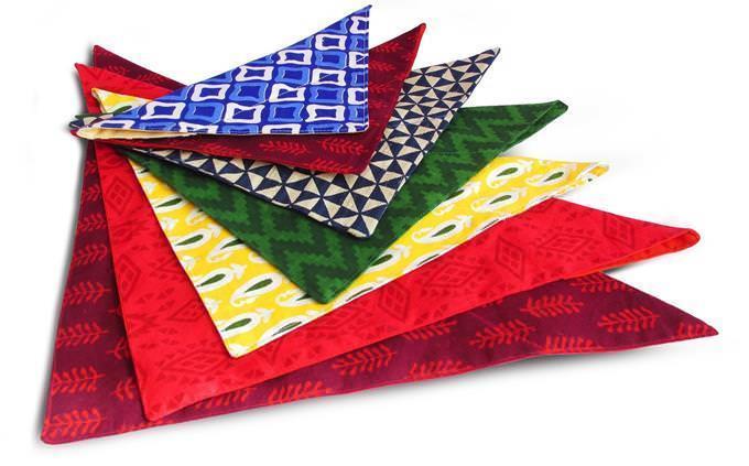 bandanas coloridas