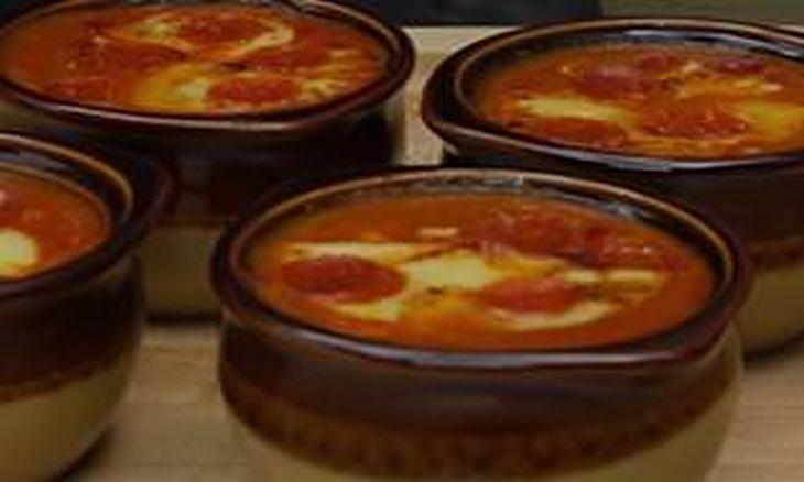 Receita de sopa-pizza