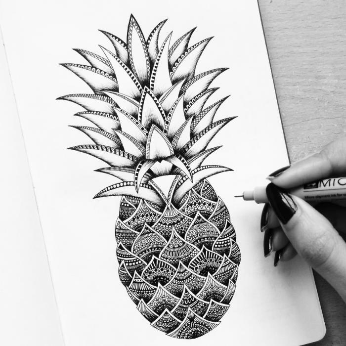 desenhos à mão