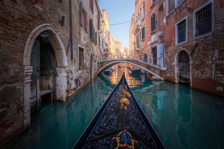 Veneza no inverno