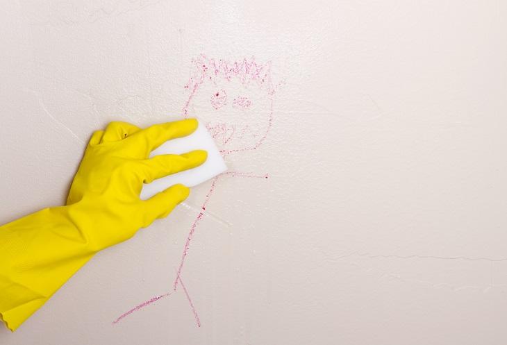 limpar parede