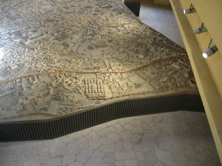 maquete de Roma Imperial
