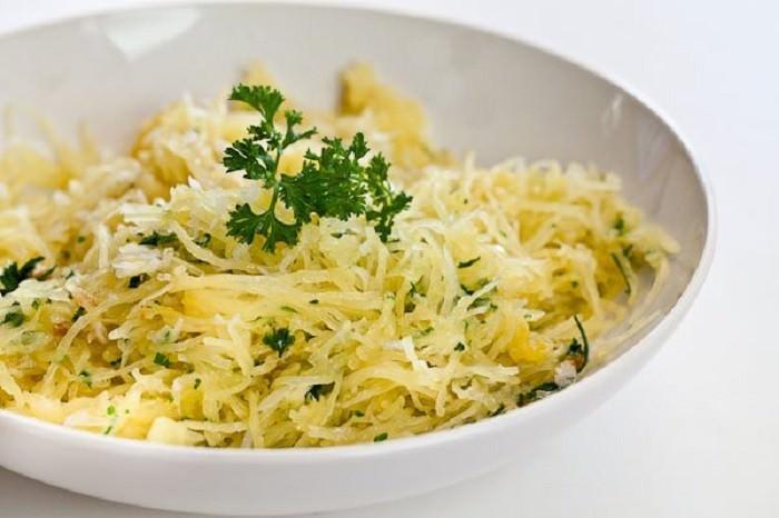 espaguete de abóbora