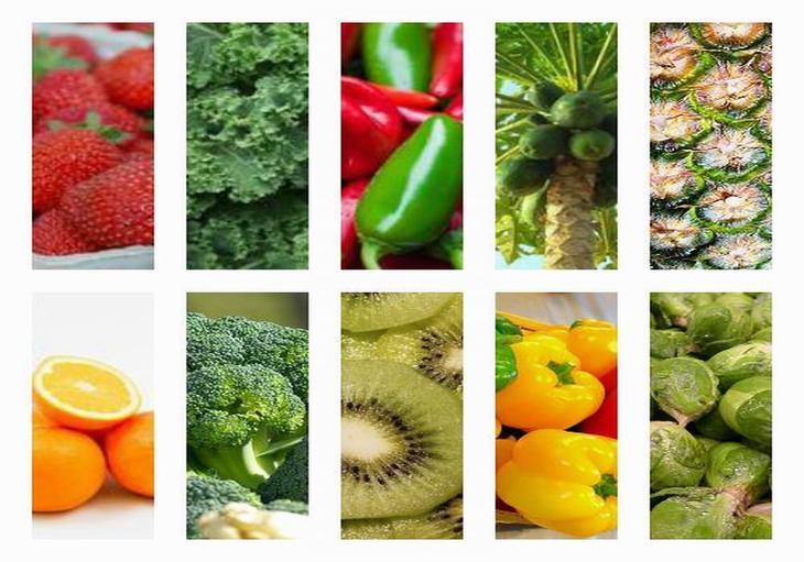 alimentos com vitamina C