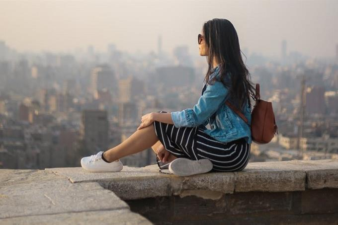 olhando horizonte