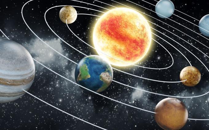 teste sobre o sistema solar