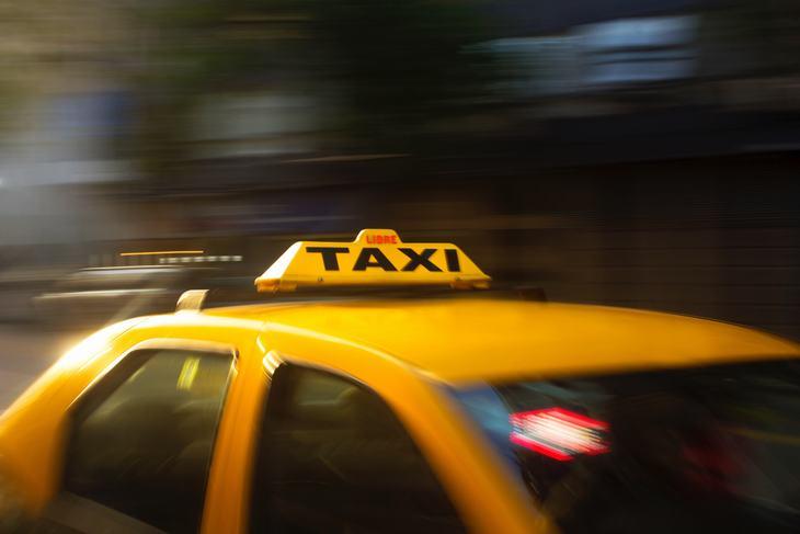 piada do taxi