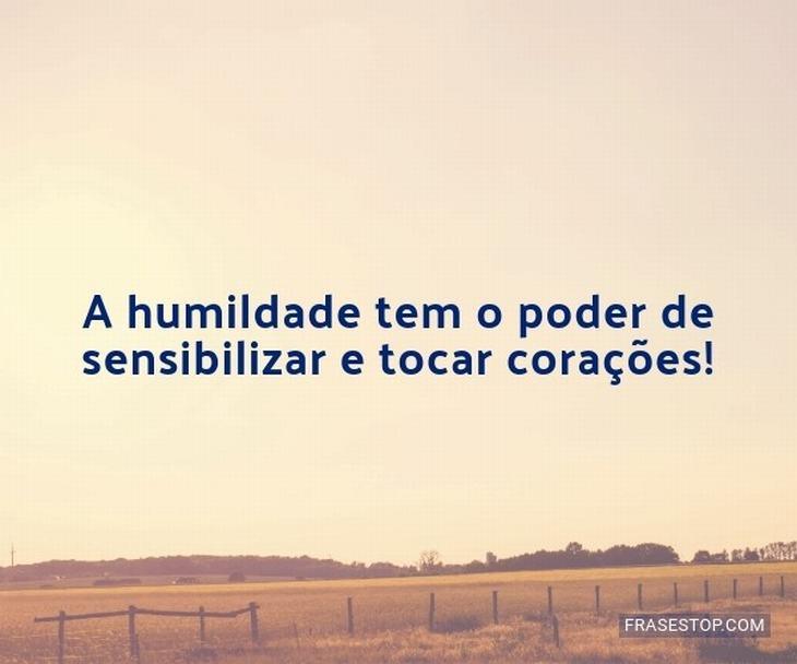 frases sobre humildade
