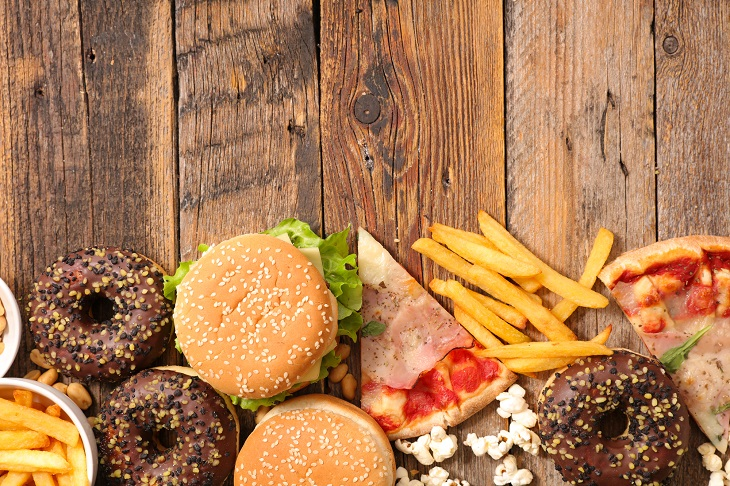 Cegueira e Surdez Devido a Alimentação Deficiente - junk food