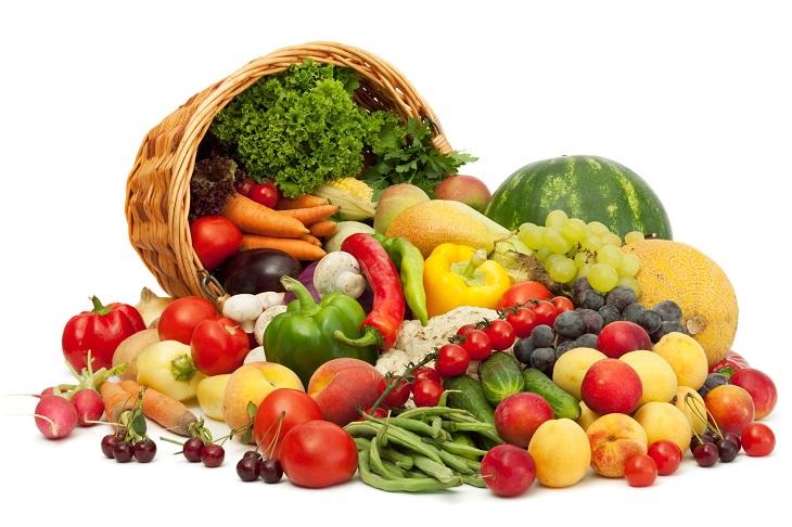 Cegueira e Surdez Devido a Alimentação Deficiente - frutas e verduras