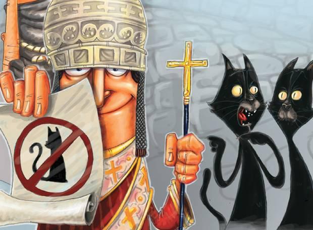 Superstições populares e suas origens-gato preto