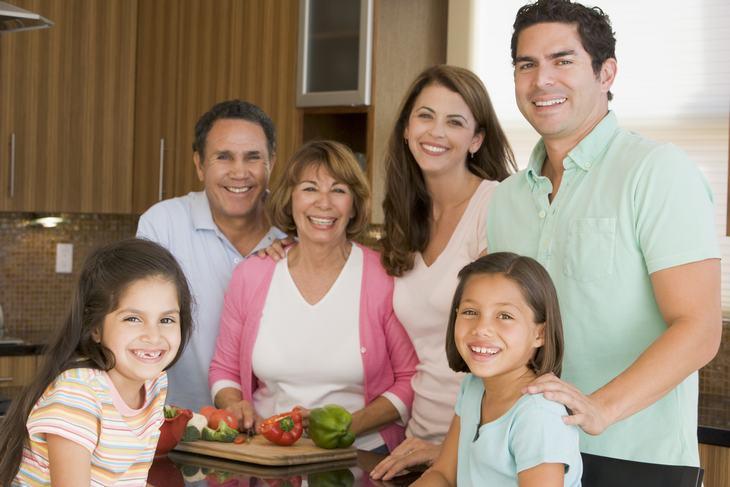 Estereótipos latinos família