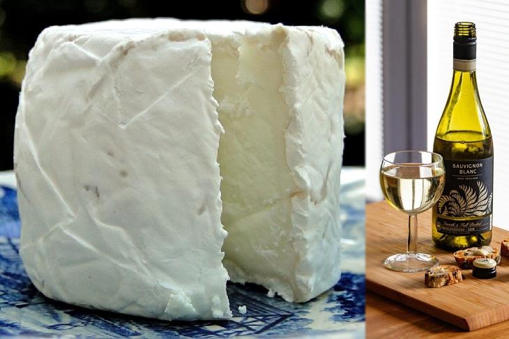 Como Combinar Perfeitamente Queijos e Vinhos -  Queijo de cabra e Sauvignon blanc