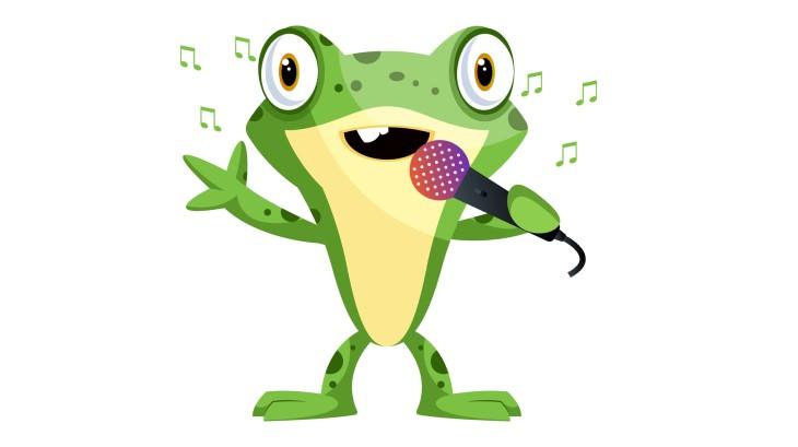 Piada: Conjunto Musical - sapo cantando