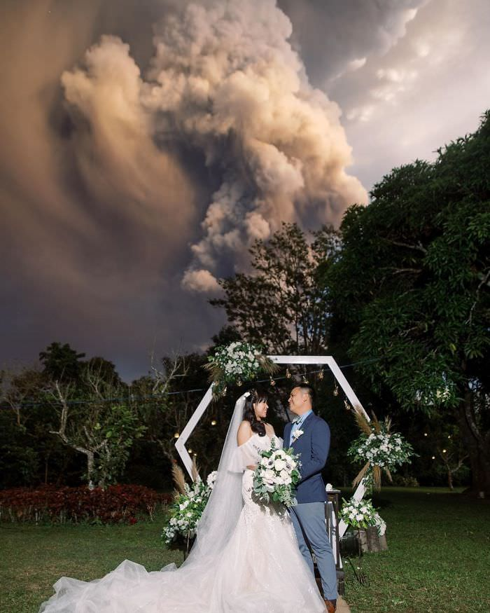 Vulcão Taal, Filipinas