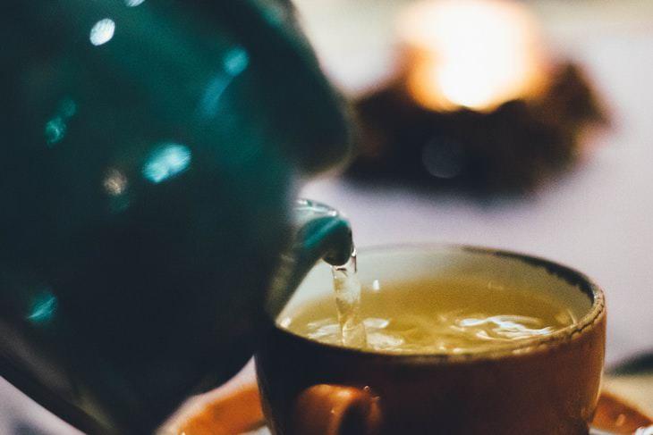 Invenção chinesa chá