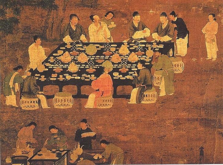 Invenção chinesa menus