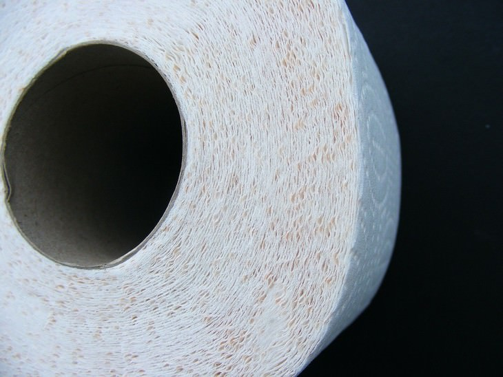 Invenção chinesa - papel higiênico
