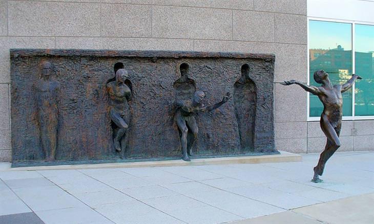 Esculturas contemporâneas