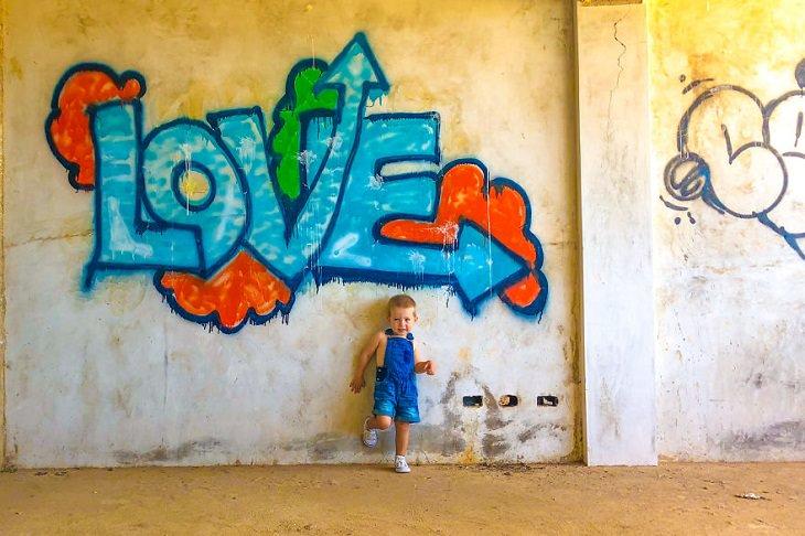 Arte de rua  Bonaire, Dutch Caribbean.