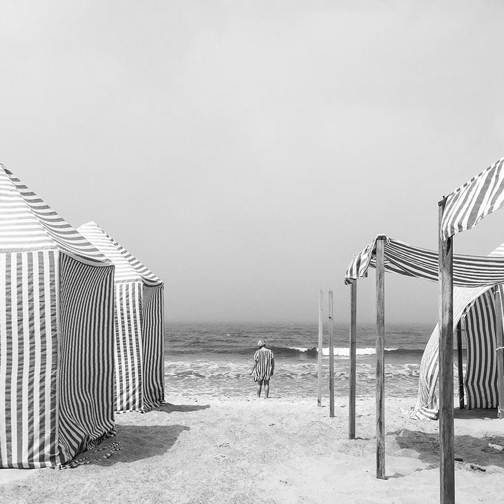 1º lugar, Diogo Lage, de Portugal - Sea Stripes (tiradana praia de Santa Rita, Portugal)
