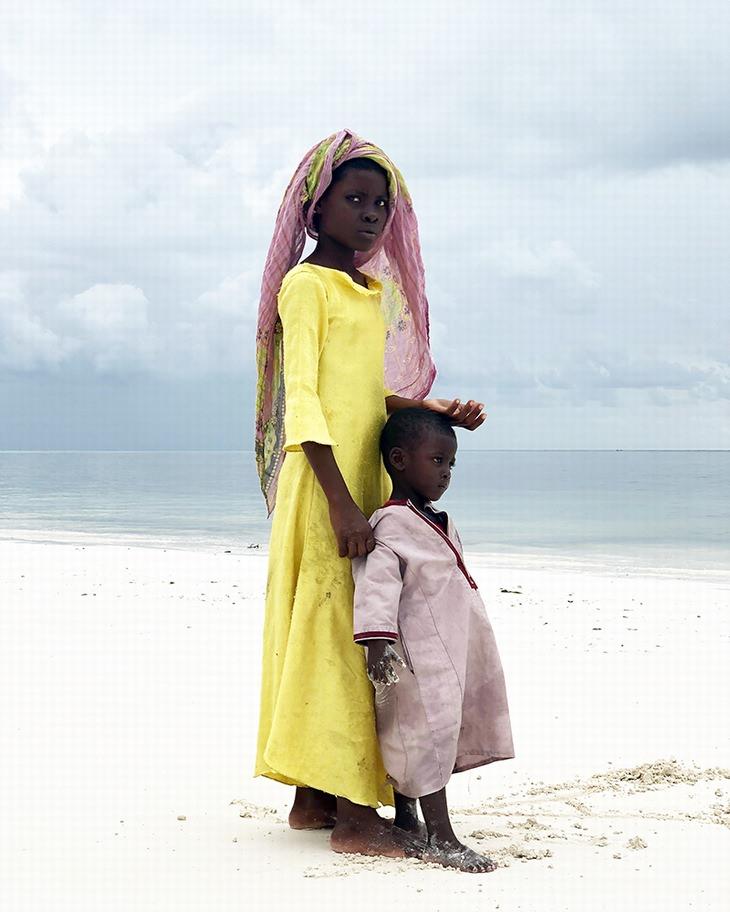 Vencedora do Grande Prêmio, Gabriella CiglianodaItália- Big Sister (feita emZanzibar, África)