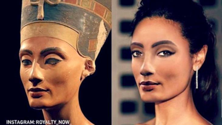 Personagens históricos Nefertiti