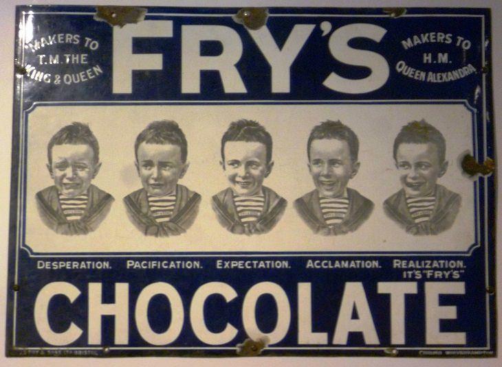 Invenções Vitorianas - barra de chocolate