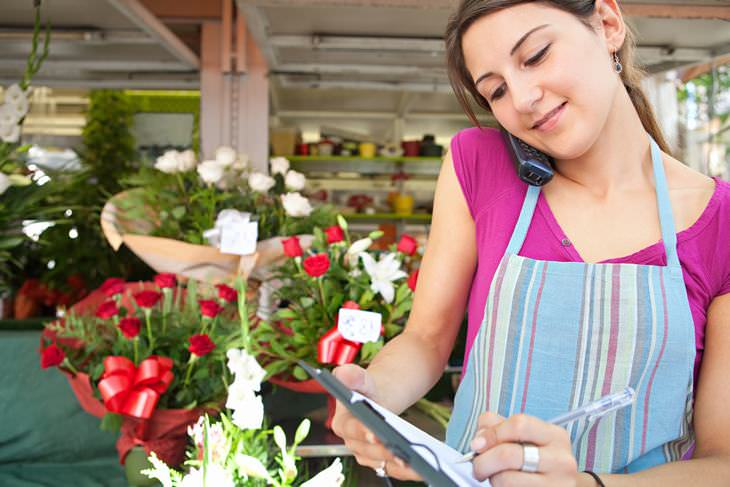 Piada: A florista confusa