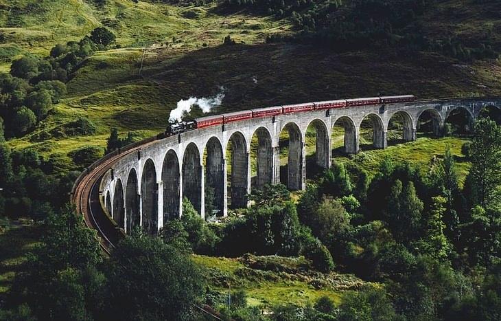 Harry Potter 2001 - Glencoe, Scottish Highlands
