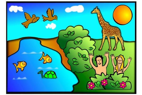 Piada: Adão e Eva